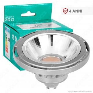 Marino Cristal Serie PRO Lampadina LED GU10 16W Faretto Spotlight