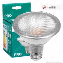 Marino Cristal Serie PRO Lampadina LED E27 10W Bulb Par Lamp PAR30