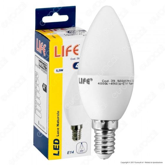 Life Lampadina LED E14 5,5W Candela