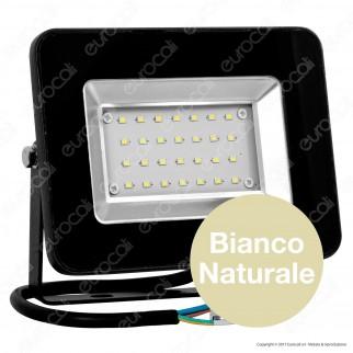 V-Tac VT-4621 I-Series Faretto LED SMD 20W Ultra Sottile da Esterno Colore Nero - SKU 5879 / 5880