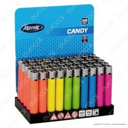 Atomic Candy Accendino Micro Ricaricabile - Box da 50 Accendini