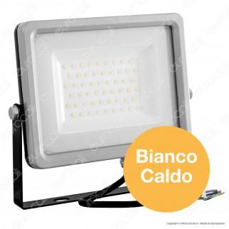 V-Tac VT-4955 Faretto LED SMD 50W Ultra Sottile da Esterno Colore Grigio e Nero - SKU 5828 / 5829 / 5830