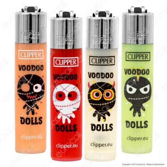 Clipper Micro Fantasia Voodoo Dolls - 4 Accendini