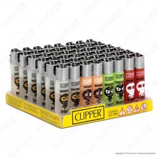 Clipper Micro Fantasia Voodoo Dolls - Box da 48 Accendini