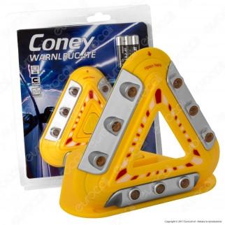 Coney Triangolo di Emergenza LED a Batteria