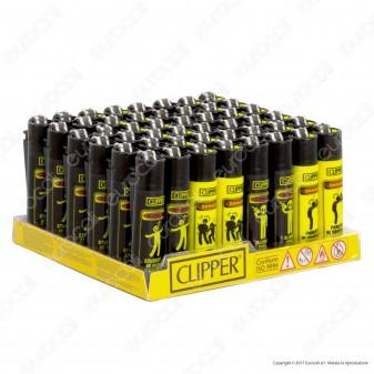 Clipper Micro Fantasia Signals 2 - Box da 48 Accendini
