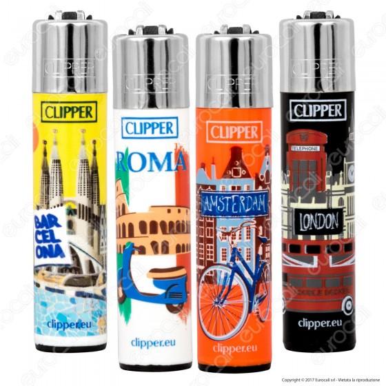 Clipper Large Fantasia Cities - 4 Accendini