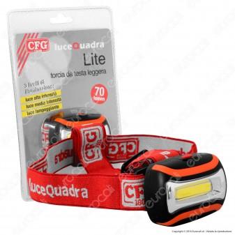 CFG Luce Quadra LED Headlight - Torcia Frontale