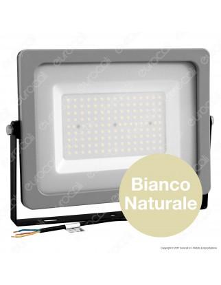 V-Tac VT-49150 Faretto LED SMD Ultrasottile 150W da Esterno Colore Grigio Nero - SKU 5858 / 5859 / 5860