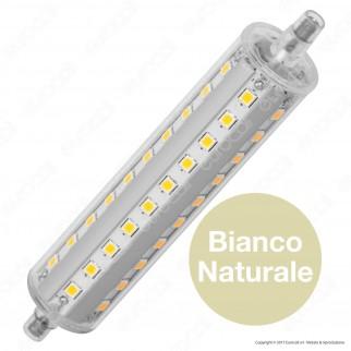 Marino Cristal Serie PRO Lampadina LED R7s L118 11W Bulb Tubolare