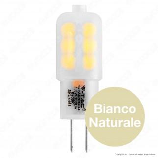 V-Tac VT-1942 Lampadina LED G4 1,5W Bulb - SKU 4463 / 4464 / 4465