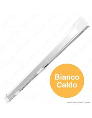 V-Tac VT-8111 Tubo LED Plafoniera 10W Lampadina 60cm - SKU 5071 / 5072 / 5073