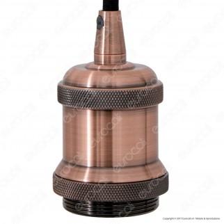 V-TAC VT-7555 Lampadario a Sospensione in Metallo con Portalampada per Lampadine E27 - SKU 3840 / 3841 / 3842 / 3843 / 3844