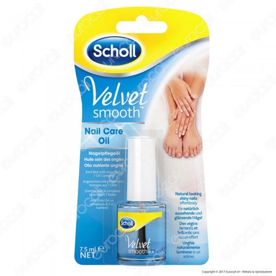 Scholl Velvet Smooth Kit Elettronico Nail Care System Lima per Mani e Piedi
