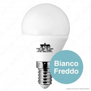 Wiva Lampadina LED E14 6W MiniGlobo P45