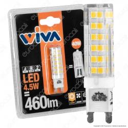 Wiva Lampadina LED G9 4,5W Bulb - mod. 12100357 / 12100359