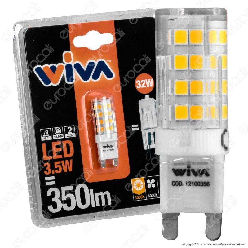 Lampadina led g9 wiva da 3 5w bulb for Lampadine g9 led