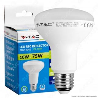 V-Tac VT-1894 Lampadina LED E27 10W Bulb Reflector R80 - SKU 4339 / 4340 / 4341