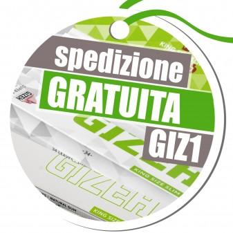 Spedizione Gratuita su Tutto l'Ordine Acquistando Cartine Lunghe Gizeh - Codice GIZ1