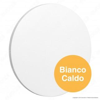 V-Tac VT-743 Lampada da Muro Wall Light LED 9W Forma Circolare Colore Bianco - SKU 7526 / 7527