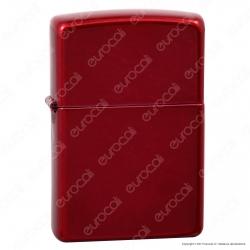 Accendino Zippo Mod. 21063 Candy Apple Red - Ricaricabile Antivento