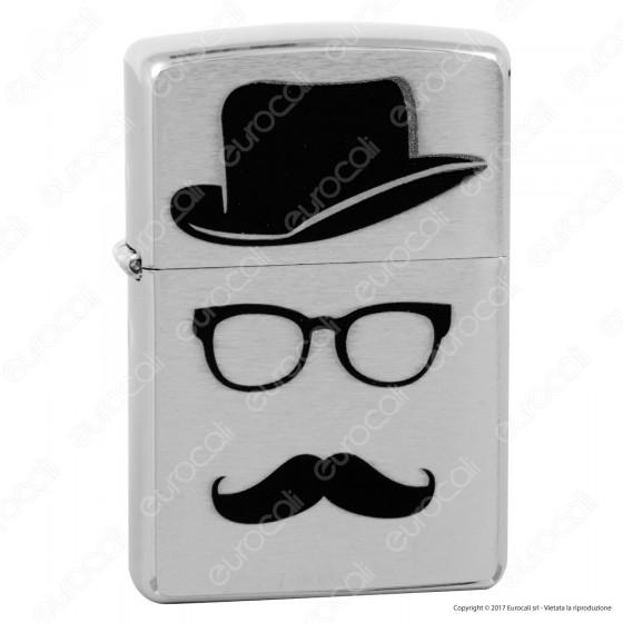 Accendino Zippo Mod. 28648 Gentlemen's Hat - Ricaricabile Antivento