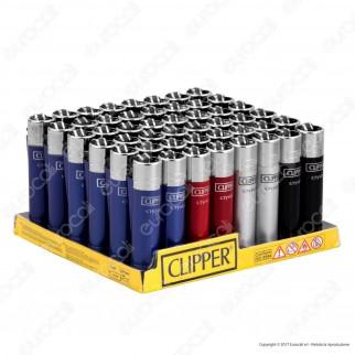 Clipper Large Fantasia Crystal 4 - Box da 48 Accendini