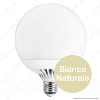 FAI Lampadina LED E27 25W Globo G130