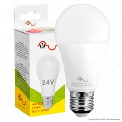 FAI Lampadina LED E27 8W Bulb A60 24V AC / DC