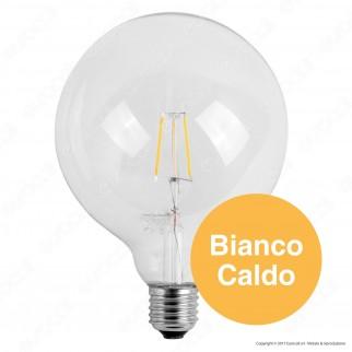 Marino Cristal Serie ECO Lampadina LED E27 3W Globo G125 Dimmerabile