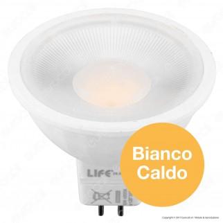 Life Lampadina LED GU5.3 (MR16) 5W Faretto Spotlight 110°