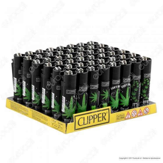 Clipper Large Fantasia Amsterdam 420 - Box da 48 Accendini