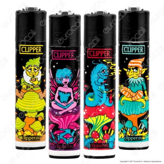Clipper Large Fantasia Trippy Elves - 4 Accendini