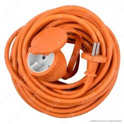 Velamp Cavo Prolunga Spina Presa Schuko 16A 2P 20 metri Colore Arancione - mod.PROHD16A-FR-20