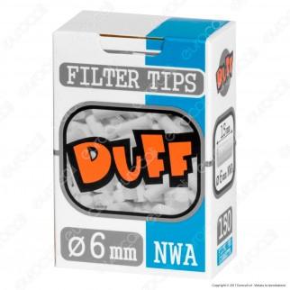 Duff Filtri Slim 6mm - Scatolina da 150 Filtri