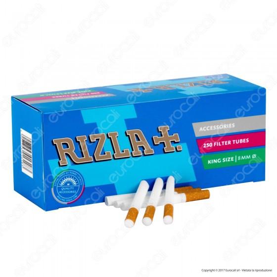 Rizla Tubetti con Filtro - Box da 250 Sigarette Vuote