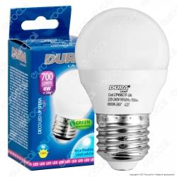 Duralamp Decoled Up Sfera Lampadina LED E27 6W MiniGlobo G45 - mod. CP456W7F / CP456N7F / CP456C7F