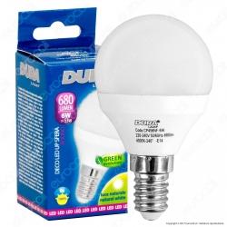 Duralamp Decoled Up Sfera Lampadina LED E14 6W MiniGlobo P45 - mod. CP456WF / CP456NF / CP456CF
