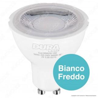 Duralamp Multi Spot Lampadina LED GU10 6W Faretto Spotlight 38°