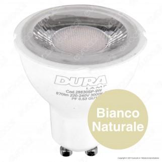 Duralamp Multi Spot Lampadina LED GU10 9W Faretto Spotlight 50°