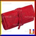 Il Morello Pocket Mini Portatabacco in Vera Pelle Colore Rosso