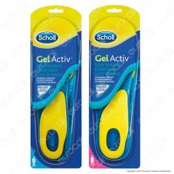 Scholl Solette Gel Activ Everyday Uomo / Donna - Confezione con 1 paio di solette