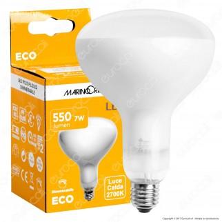Marino Cristal Serie ECO Lampadina LED E27 7W Bulb Reflector R125 Filament Dimmerabile - mod. 21392