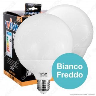 Wiva Kit LED BiGlobo Pack - 2 Lampadine Globo E27 da 21W e 24W