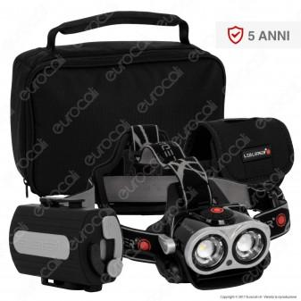 Ledlenser Xeo 3 Torcia LED Headlight Multifunzione Ricaricabile con Powerbank 5200mAh