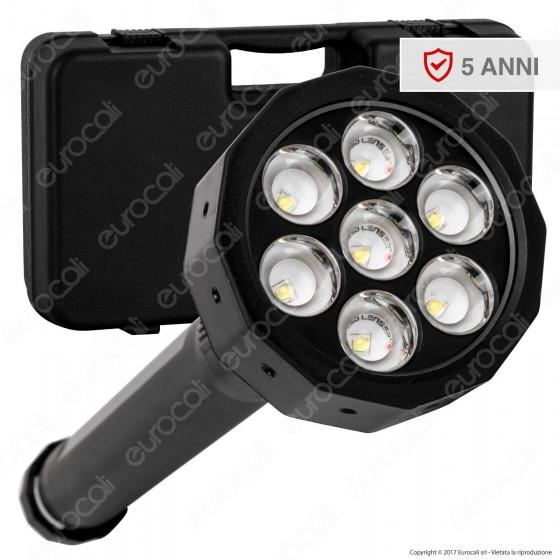 Ledlenser 9421R Torcia LED X21R.2 Professionale Ricaricabile in Alluminio