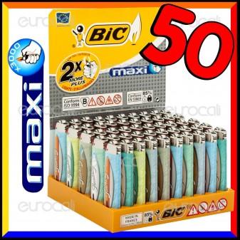 Bic Maxi J26 Grande Fantasia Smoking Surf - Box da 50 Accendini