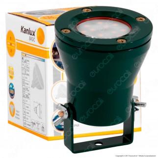 Kanlux Akven LED Portalampada IP68 per Lampadine GX5,3 - Faretto LED 5W Incluso - mod.25720