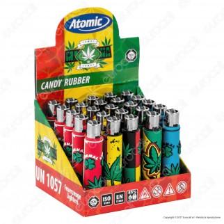 Atomic Candy Rubber Accendino Mini Ricaricabile - Box da 25 Accendini