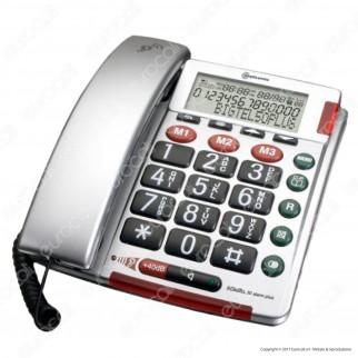 Amplicomms BigTel 50 Alarm Plus Telefono Fisso con S.O.S. per Portatori di Apparecchi Acustici